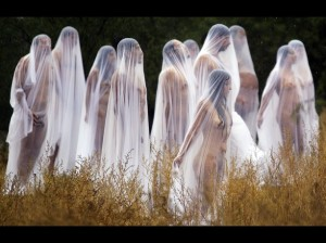 US photographer Spencer Tunick in Mexico